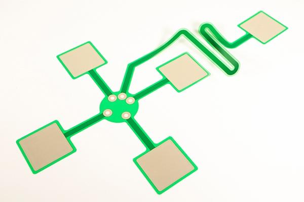 Biological electrode made by P-Flex™